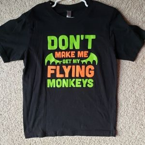 Don't Make Me Get My Flying Monkeys Youth S shirt